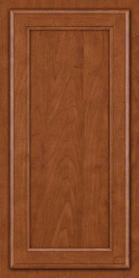 Square Recessed Panel - Veneer (NG) Maple in Chestnut - Wall
