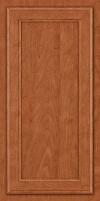 Square Recessed Panel - Veneer (NG) Maple in Cinnamon - Wall