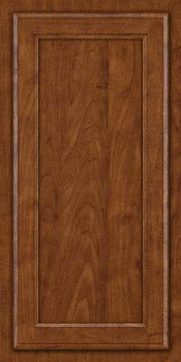 Square Recessed Panel - Veneer (NG) Maple in Cognac - Wall