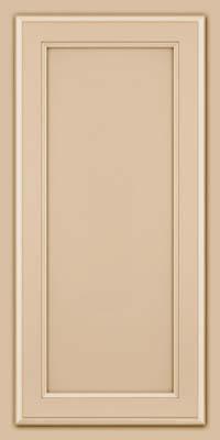 Square Recessed Panel - Veneer (NG) Maple in Mushroom - Wall
