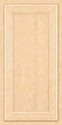 Square Recessed Panel - Veneer (NG) Maple in Natural - Wall