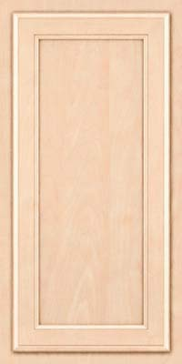 Square Recessed Panel - Veneer (NG) Maple in Parchment - Wall