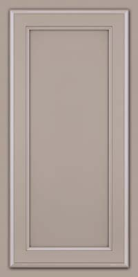 Square Recessed Panel - Veneer (NG) Maple in Pebble Grey - Wall