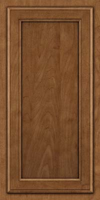 Square Recessed Panel - Veneer (NG) Maple in Rye w/Onyx Glaze - Wall