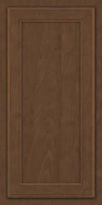 Square Recessed Panel - Veneer (NG) Maple in Saddle Suede - Wall
