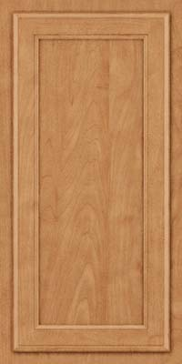 Square Recessed Panel - Veneer (NG) Maple in Toffee - Wall