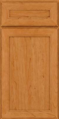 Square Recessed Panel - Veneer (PDC) Cherry in Natural - Base