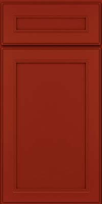 Square Recessed Panel - Veneer (PDM) Maple in Cardinal - Base