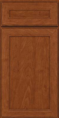 Square Recessed Panel - Veneer (PDM) Maple in Chestnut - Base