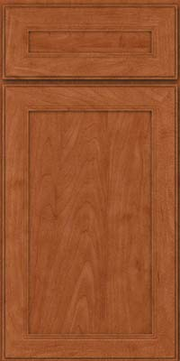 Square Recessed Panel - Veneer (PDM) Maple in Cinnamon - Base