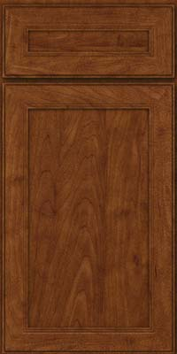Square Recessed Panel - Veneer (PDM) Maple in Cognac - Base