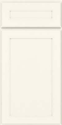 Square Recessed Panel - Veneer (PDM) Maple in Dove White - Base
