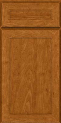 Square Recessed Panel - Veneer (PDM) Maple in Golden Lager - Base