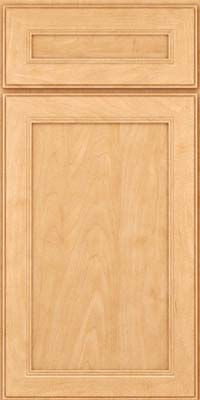 Square Recessed Panel - Veneer (PDM) Maple in Honey Spice - Base