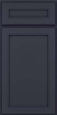 Square Recessed Panel - Veneer (PDM) Maple in Midnight w/ Onyx Glaze - Base