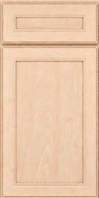 Square Recessed Panel - Veneer (PDM) Maple in Parchment - Base