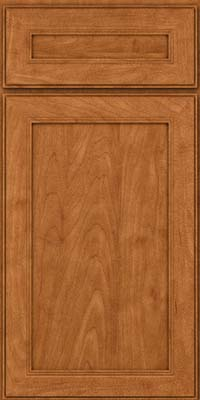 Square Recessed Panel - Veneer (PDM) Maple in Praline w/Mocha Highlight - Base
