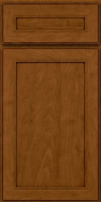 Square Recessed Panel - Veneer (PDM) Maple in Rye w/Sable Glaze - Base
