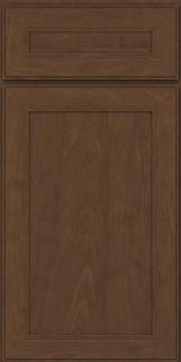 Square Recessed Panel - Veneer (PDM) Maple in Saddle Suede - Base