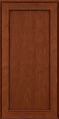 Square Recessed Panel - Veneer (PDM) Maple in Chestnut w/Onyx Glaze - Wall