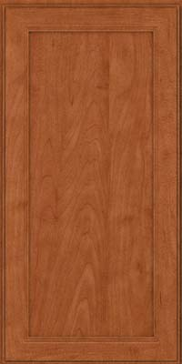 Square Recessed Panel - Veneer (PDM) Maple in Cinnamon - Wall