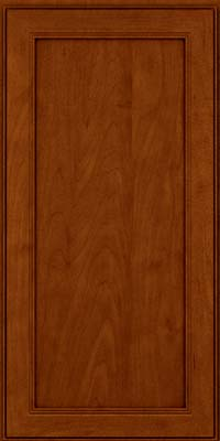 Square Recessed Panel - Veneer (PDM) Maple in Cinnamon w/Onyx Glaze - Wall
