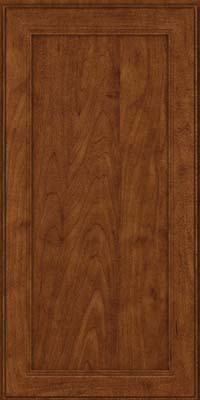 Square Recessed Panel - Veneer (PDM) Maple in Cognac - Wall