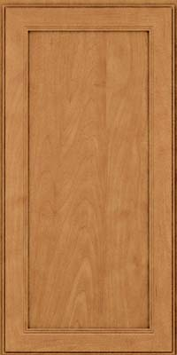 Square Recessed Panel - Veneer (PDM) Maple in Ginger w/Sable Glaze - Wall