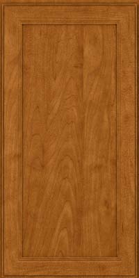 Square Recessed Panel - Veneer (PDM) Maple in Golden Lager - Wall