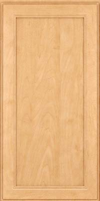 Square Recessed Panel - Veneer (PDM) Maple in Honey Spice - Wall