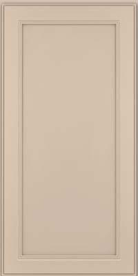 Square Recessed Panel - Veneer (PDM) Maple in Mushroom w/ Cinder Glaze - Wall