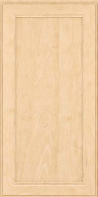 Square Recessed Panel - Veneer (PDM) Maple in Natural - Wall