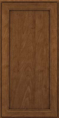 Square Recessed Panel - Veneer (PDM) Maple in Rye w/Onyx Glaze - Wall