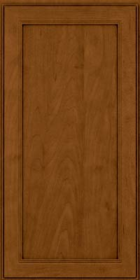 Square Recessed Panel - Veneer (PDM) Maple in Rye w/Sable Glaze - Wall