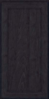 Square Recessed Panel - Veneer (PDM) Maple in Slate - Wall