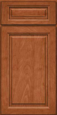 Square Raised Panel - Solid (PKM) Maple in Cinnamon - Base