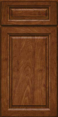 Square Raised Panel - Solid (PKM) Maple in Cognac - Base