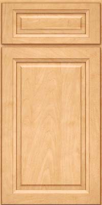 Square Raised Panel - Solid (PKM) Maple in Honey Spice - Base