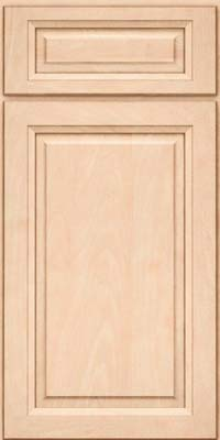 Square Raised Panel - Solid (PKM) Maple in Parchment - Base