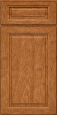 Square Raised Panel - Solid (PKM) Maple in Praline - Base