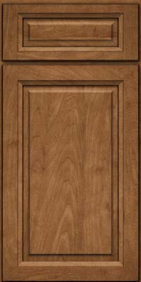 Square Raised Panel - Solid (PKM) Maple in Rye - Base