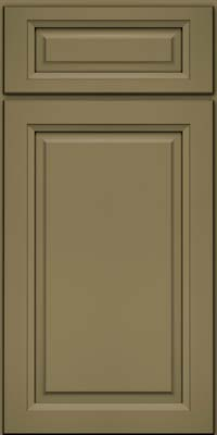 Square Raised Panel - Solid (PKM) Maple in Sage - Base