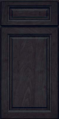 Square Raised Panel - Solid (PKM) Maple in Slate - Base
