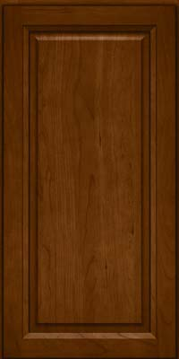 Square Raised Panel - Solid (PK) Cherry in Chocolate - Wall