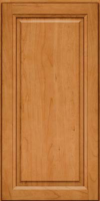 Square Raised Panel - Solid (PK) Cherry in Natural - Wall