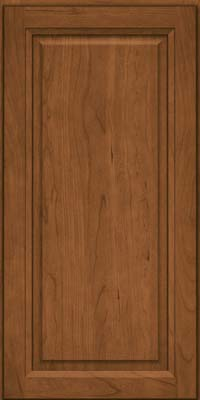 Square Raised Panel - Solid (PK) Cherry in Rye - Wall