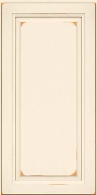 Square Raised Panel - Solid (PK) Cherry in Vintage Canvas - Wall