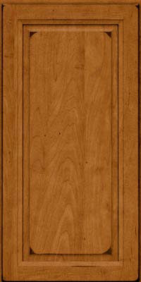 Square Raised Panel - Solid (PKM) Maple in Burnished Golden Lager - Wall