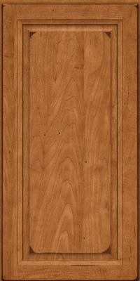 Square Raised Panel - Solid (PKM) Maple in Burnished Praline - Wall