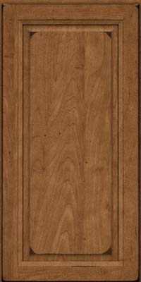 Square Raised Panel - Solid (PKM) Maple in Burnished Rye - Wall